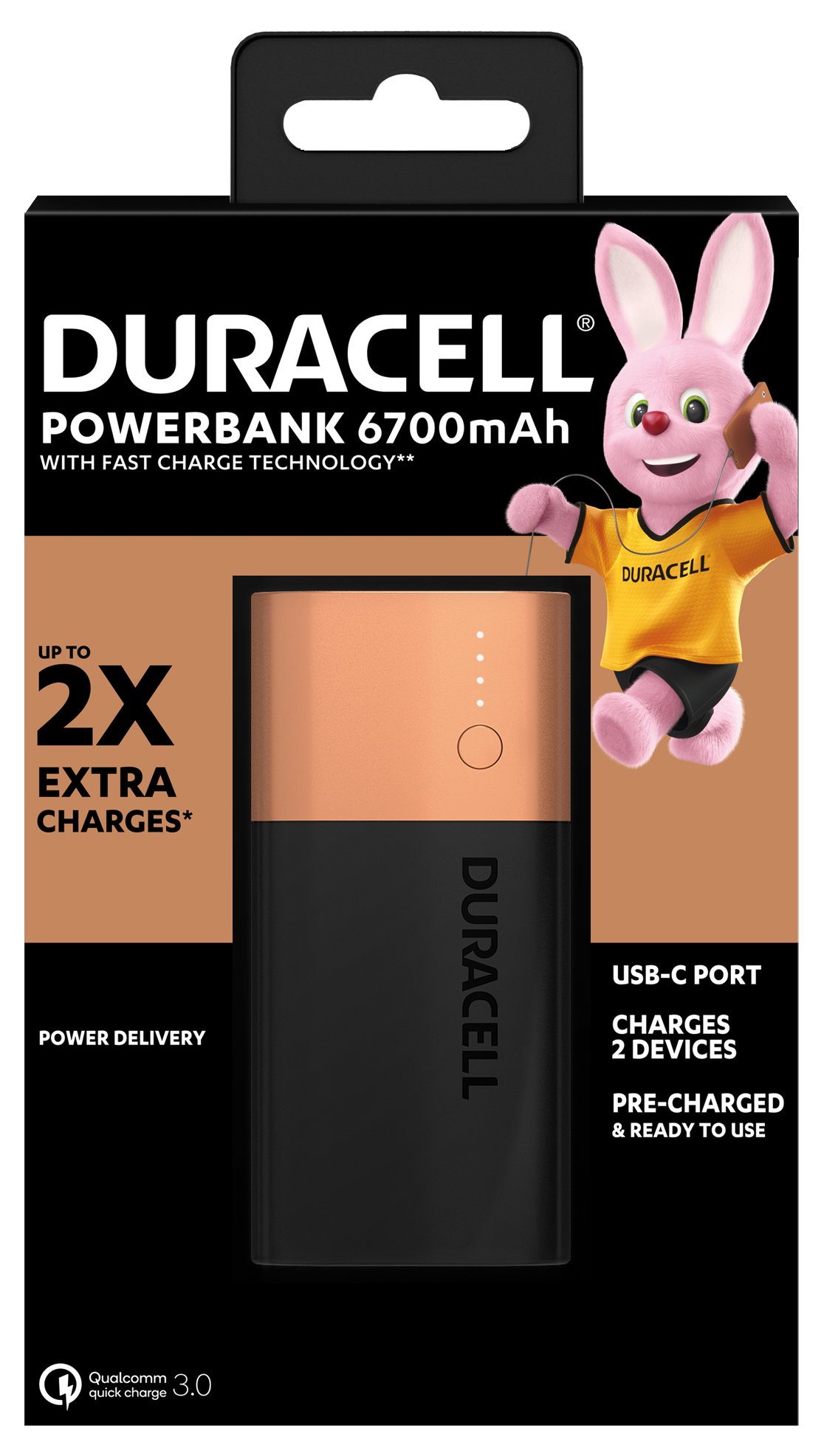 Recensione Duracell Powerbank 6.700 mAh